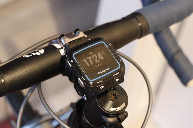 Voila! Your Garmin 920XT is on your bike!