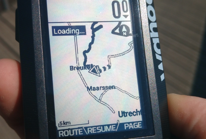 Wahoo ELEMNT route breadcrumb