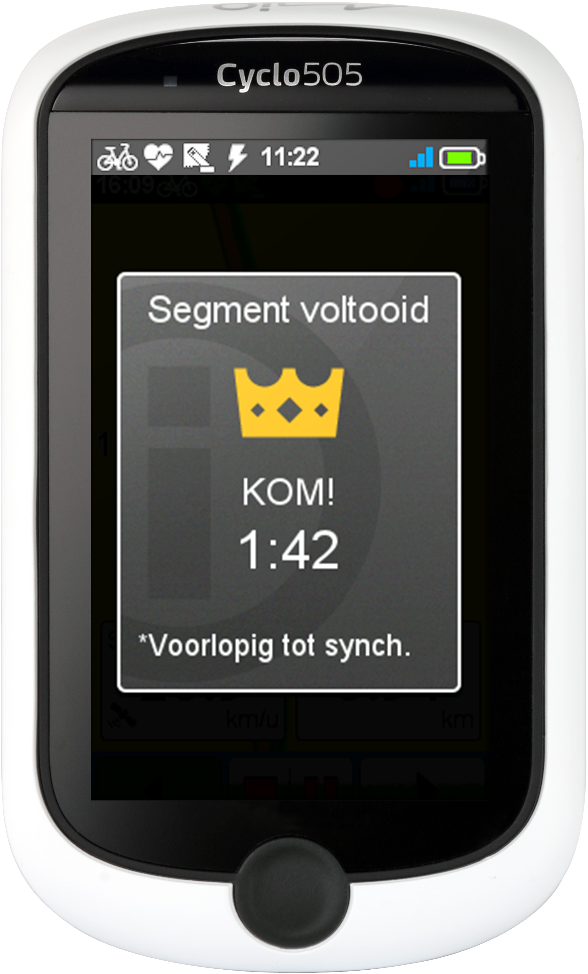 cyclo 505 strava live segments
