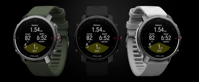 All three Polar Grit X watches